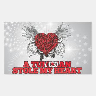A Tunisian Stole my Heart Stickers