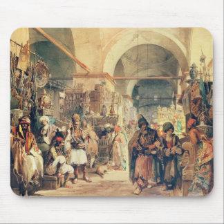A Turkish Bazaar, 1854 (pencil & w/c on paper) Mouse Mat
