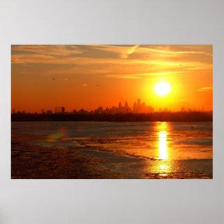 A Turner Sunset Poster