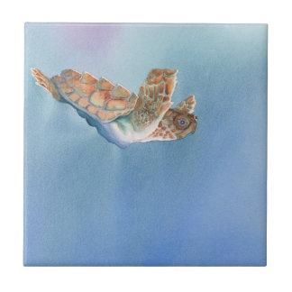 A Turtles Flight Sea Turtle Tile