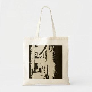 A Tuscan Brick Alleyway of Rome Tote Bag
