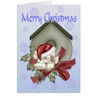 A Tweeting Christmas Card