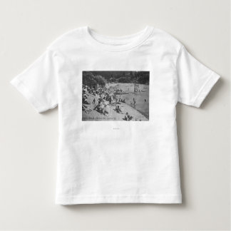 A Typical Day at Sandy Beach Monte Rio, CA Toddler T-Shirt