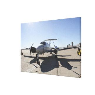 A  UC-12F King Air aircraft Canvas Print