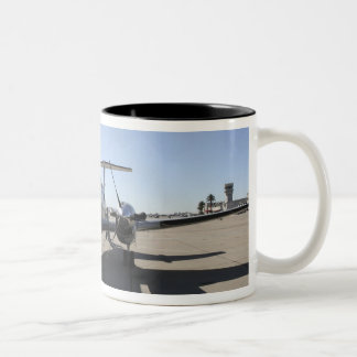 A  UC-12F King Air aircraft Two-Tone Coffee Mug