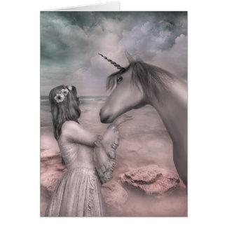 A  Unicorn's Love Card