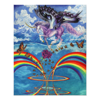 A Unicorn's Love Poster