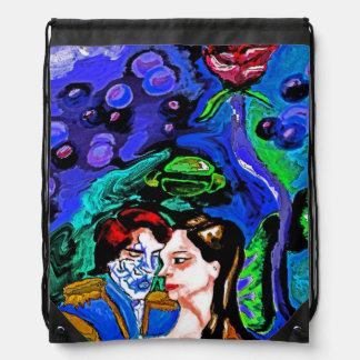A universe of our own drawstring bag