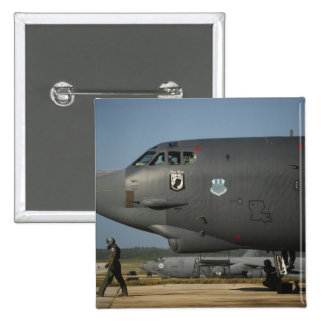 A US Air Force aircrew prepares a B-52 15 Cm Square Badge