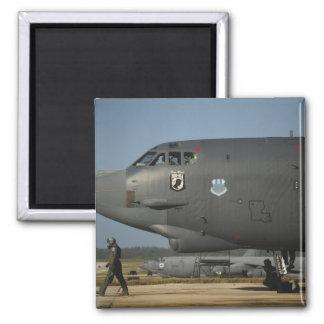 A US Air Force aircrew prepares a B-52 Magnet