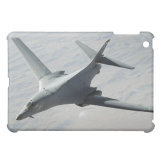 A US Air Force  B-1B Lancer on a combat patrol iPad Mini Cases