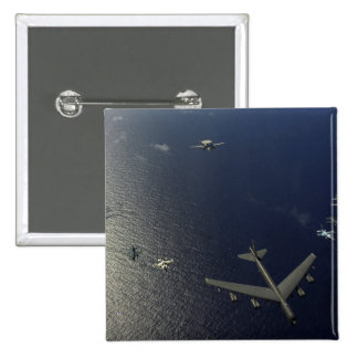 A US Air Force B-52 Stratofortress aircraft 2 15 Cm Square Badge