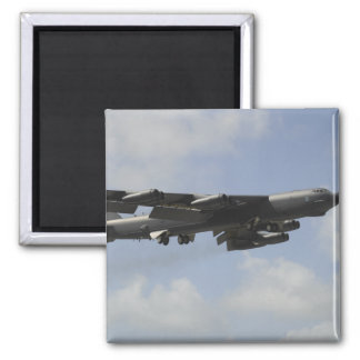 A US Air Force B-52 Stratofortress in flight Magnet