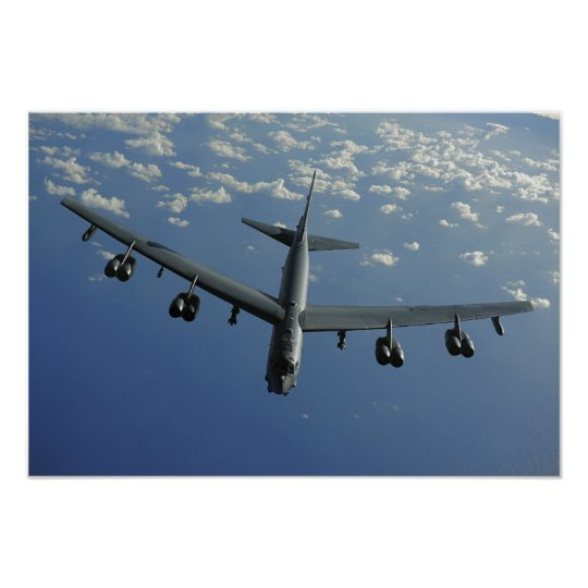 A US Air Force B-52 Stratofortress Poster