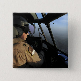 A US Air Force C-130J Hercules pilot 15 Cm Square Badge