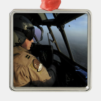 A US Air Force C-130J Hercules pilot Christmas Ornament