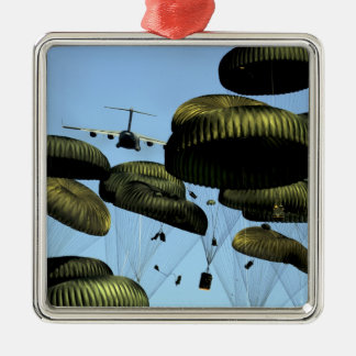 A US Air Force C-17 Globemaster III Christmas Ornament