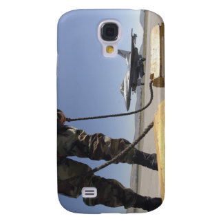 A US Air Force crew chief Galaxy S4 Case