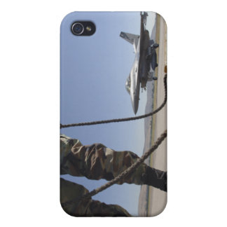A US Air Force crew chief iPhone 4 Cover