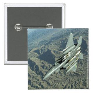 A US Air Force  F-15E Strike Eagle 15 Cm Square Badge