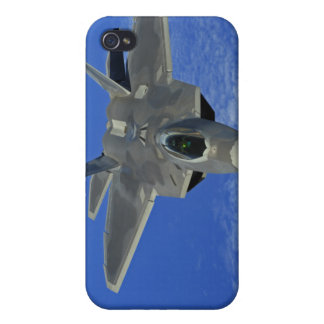 A US Air Force F-22 Raptor in flight near Guam Covers For iPhone 4