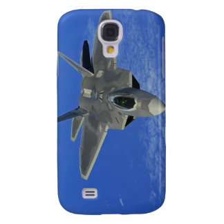A US Air Force F-22 Raptor in flight near Guam Galaxy S4 Case