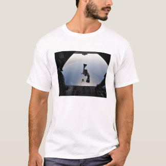 A US Air Force pararescueman jumping out T-Shirt