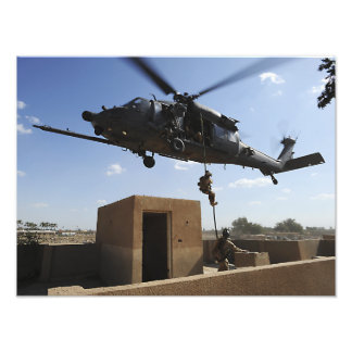 A US Air Force Pararescuemen Photo Print