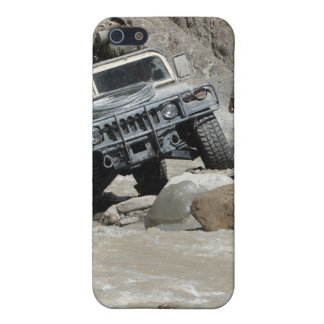 A US Marine guiding the driver of a Humvee iPhone 5 Cases