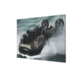 A US Navy Landing Craft Air Cushion Gallery Wrap Canvas
