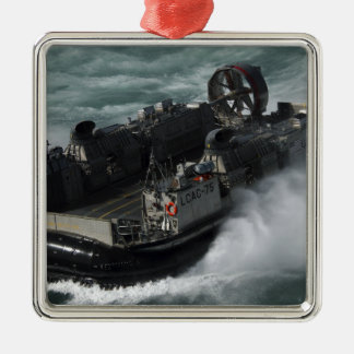 A US Navy Landing Craft Air Cushion Christmas Ornament