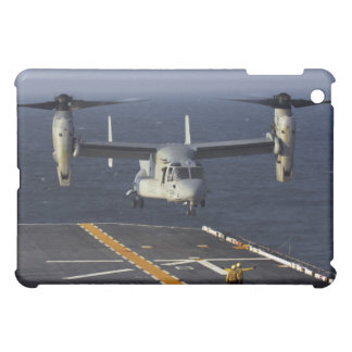 A V-22 Osprey aircraft prepares to land iPad Mini Covers