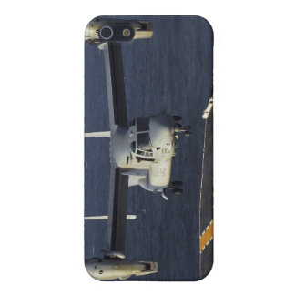 A V-22 Osprey aircraft prepares to land iPhone 5/5S Case