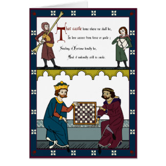 A Valentine for Chess Lovers Card