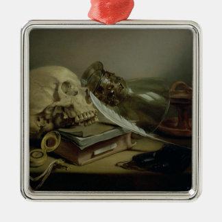 A Vanitas Still Life Christmas Ornament