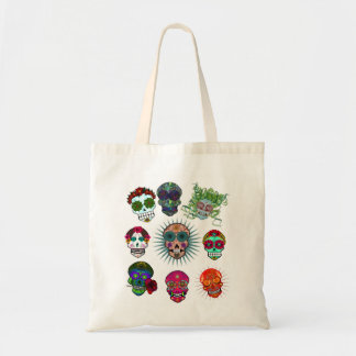 A Variety of Sugar Skulls Tote Bag