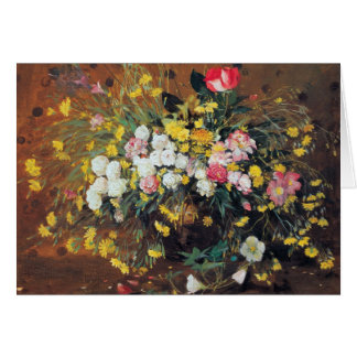 A Vase of Flowers Card