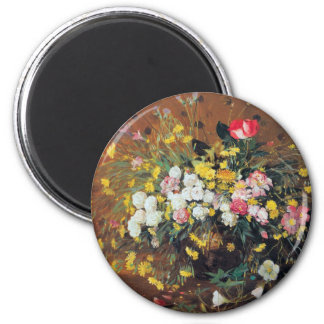 A Vase of Flowers Magnet