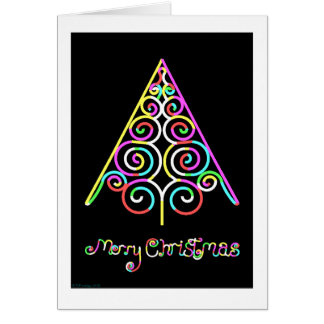 A Vector Christmas Note Card