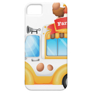 A vehicle selling farm fresh products iPhone 5 case