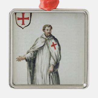 A Venetian Templar Christmas Ornament