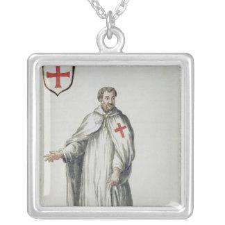 A Venetian Templar Silver Plated Necklace