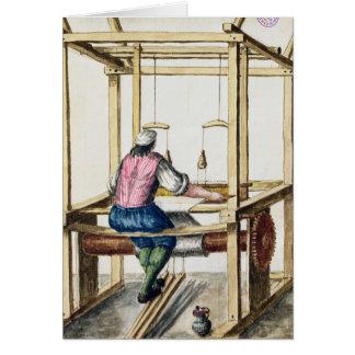 A Venetian Weaver Card