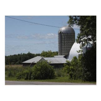 A Vermont Farm Postcard