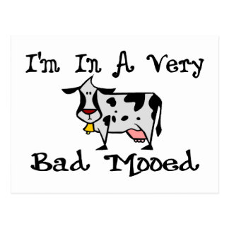 A Very Bad Mooed Postcard