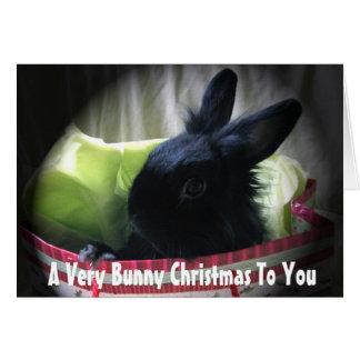 A Very Bunny Christmas To You Card