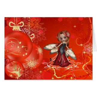 A Very Fairy Christmas Greeting Card