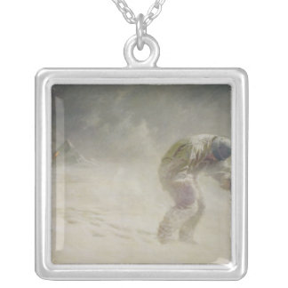 A very gallant gentleman, 1913 silver plated necklace