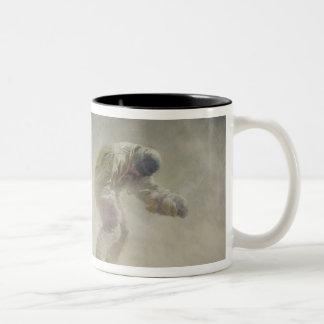 A very gallant gentleman, 1913 Two-Tone coffee mug