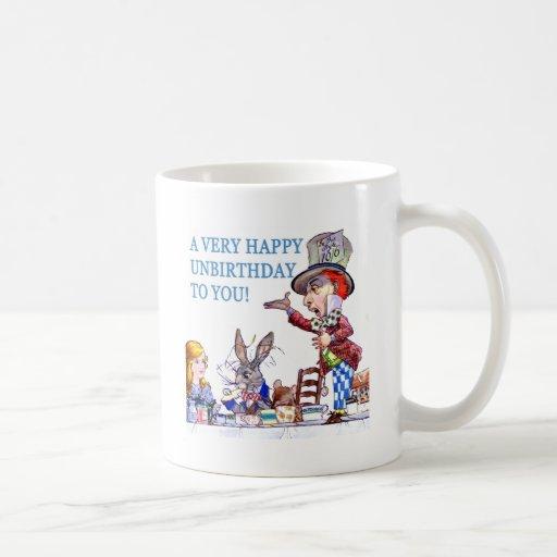 A Very Happy Unbirthday To You! Basic White Mug